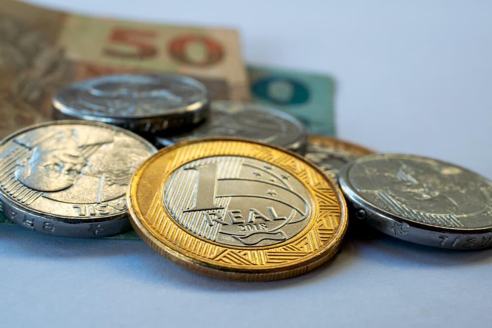 moedas real cédula